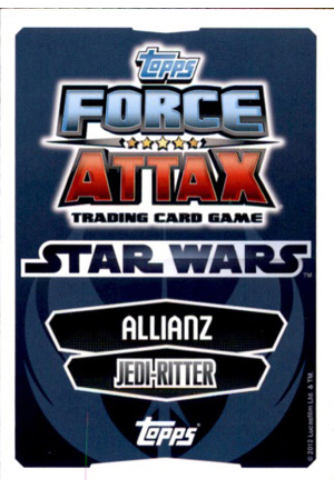 Force Attax Movie Serie 1 Rückseite