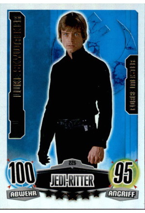 Force Attax Movie Serie 1 Vorderseite