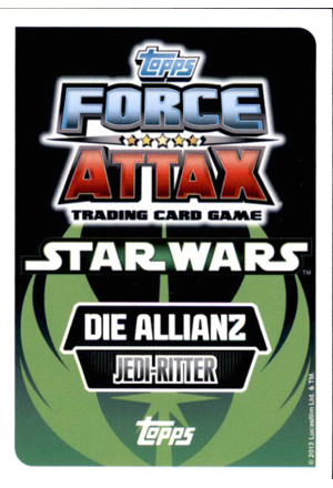 Force Attax Movie Serie 2 Rückseite