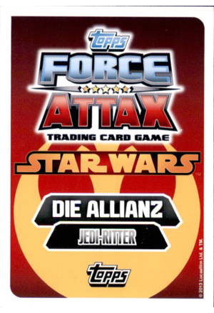 Force Attax Movie Serie 3 Rückseite