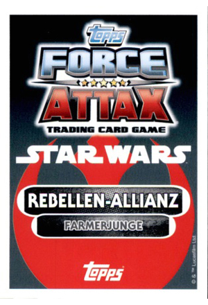 Force Attax Movie Serie 4 Rückseite