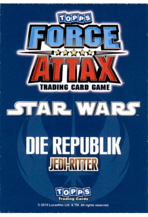 Force Attax Serie 1 Rückseite
