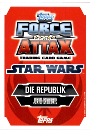 Force Attax Serie 3 Rückseite