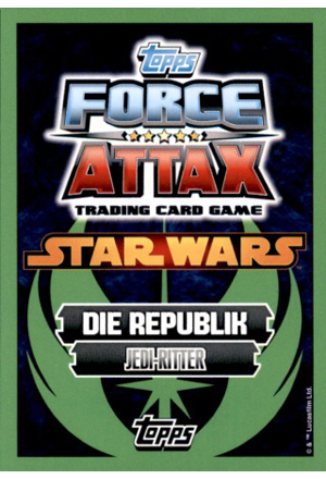 Force Attax Serie 5 Rückseite