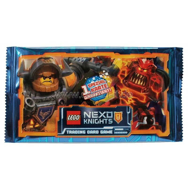 LEGO Nexo Knights - Trading Cards - 1 Booster - Deutsch