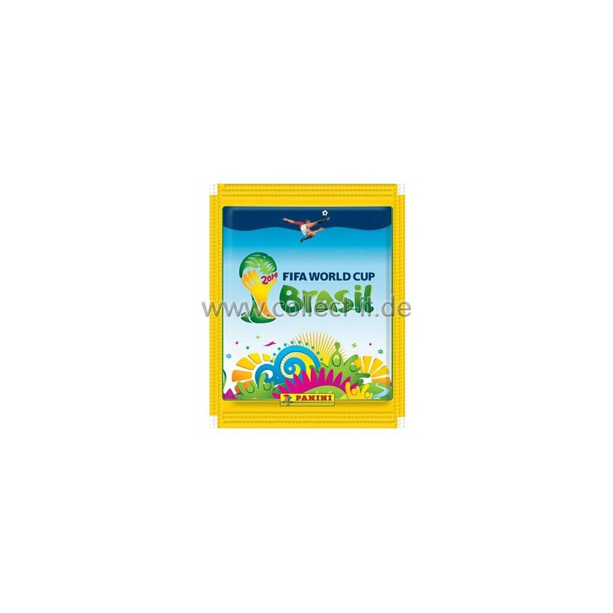 panini wm 2014 sticker 1 gelbe t te sofort lieferbar