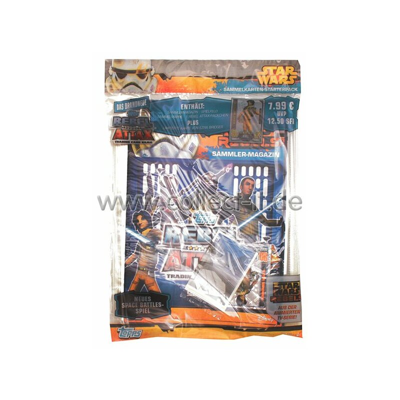 RA1 - Rebel Attax - Star Wars - Serie 1 - Starterpack - Deutsch