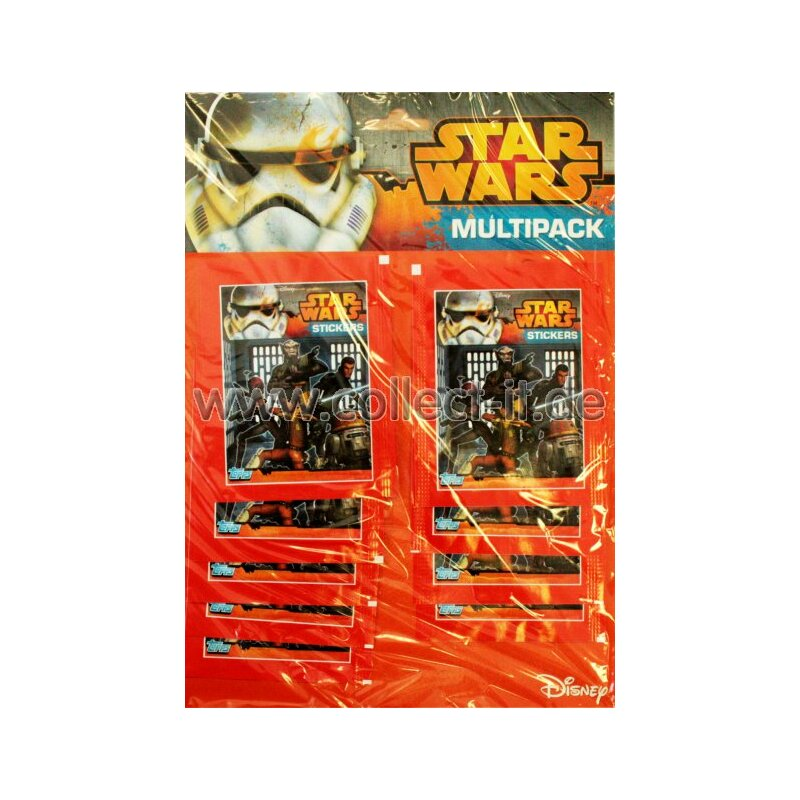 TOPPS - Star Wars Rebels Sticker - Multipack