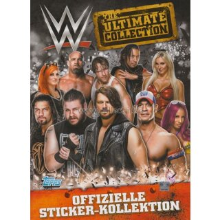 WWE 2017 Ultimate Sticker - 1 Album