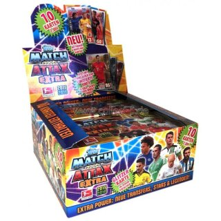Match Attax EXTRA - SAISON 15/16 - Display (24 Booster)