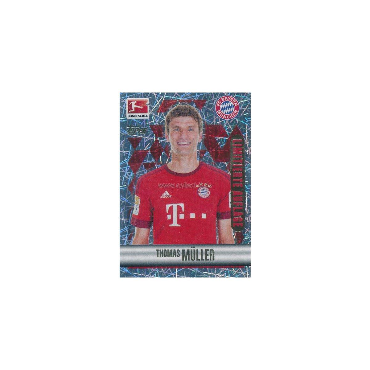 Douglas Costa Topps Bundesliga 2015/16 Sticker 326