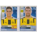 CL1617 - Sticker - DOR08+09 - Marc Bartra+Sokratis...