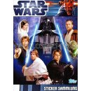 TOPPS - Star Wars - Movie Sticker - Album