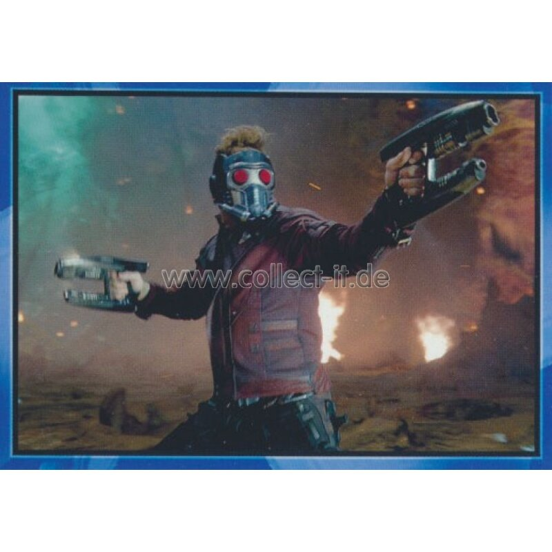 Star-Lord-Charakter-Karte Panini-Marvel-Guardians of the Galaxy Vol.2 Nr 16