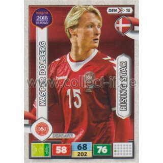 DEN15 - Kasper Dolberg - ROAD TO WM 2018 - Rising Star
