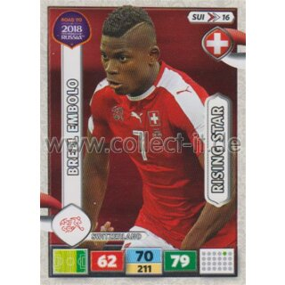 SUI16 - Breel Embolo - ROAD TO WM 2018 - Rising Star