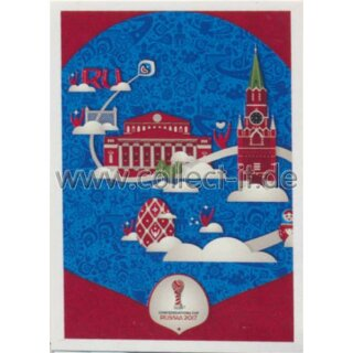 Confederations Cup 2017 - Sticker 8 - Moscow Poster