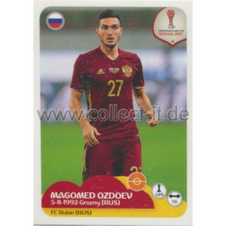 Confederations Cup 2017 - Sticker 53 - Magomed Ozdoev