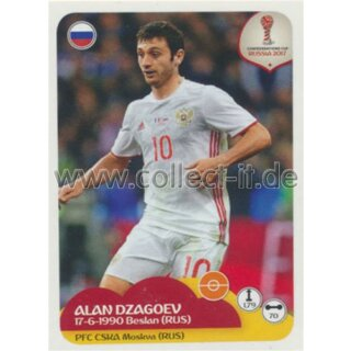 Confederations Cup 2017 - Sticker 54 - Alan Dzagoev
