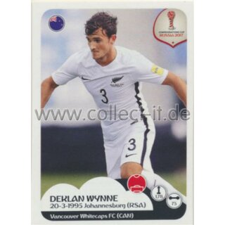 Confederations Cup 2017 - Sticker 71 - Deklan Wynne