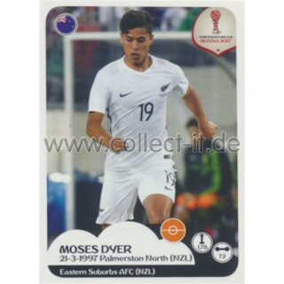 Confederations Cup 2017 - Sticker 75 - Moses Dyer