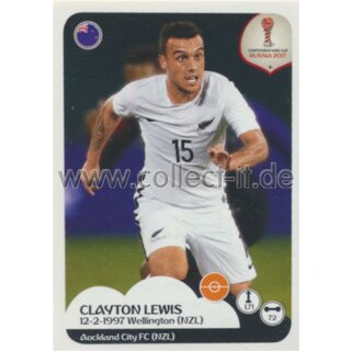 Confederations Cup 2017 - Sticker 77 - Clayton Lewis