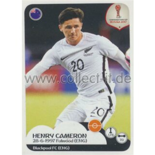 Confederations Cup 2017 - Sticker 79 - Henry Cameron