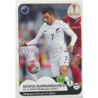 Confederations Cup 2017 - Sticker 82 - Kosta Barbarouses