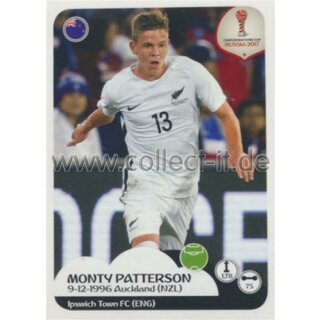Confederations Cup 2017 - Sticker 83 - Monty Patterson