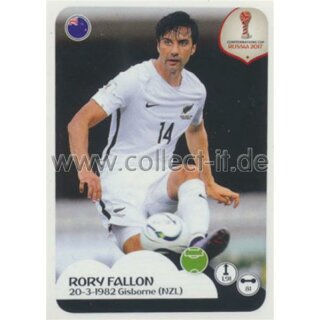 Confederations Cup 2017 - Sticker 84 - Rory Fallon