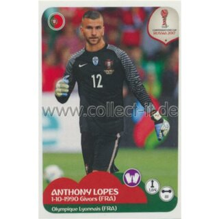 Confederations Cup 2017 - Sticker 91 - Anthony Lopes
