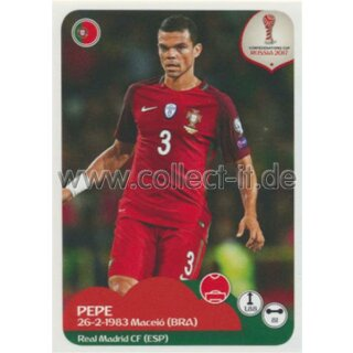 Confederations Cup 2017 - Sticker 92 - Pepe