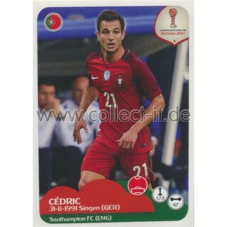 Confederations Cup 2017 - Sticker 95 - Cedric