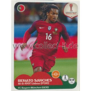 Confederations Cup 2017 - Sticker 98 - Renato Sanches