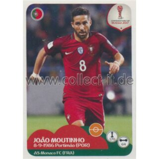 Confederations Cup 2017 - Sticker 102 - Joao Moutinho
