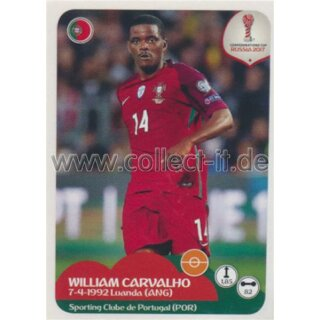 Confederations Cup 2017 - Sticker 103 - William Carvalho
