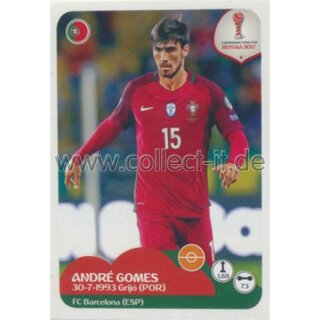 Confederations Cup 2017 - Sticker 105 - Andre Gomes
