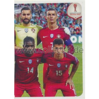 Confederations Cup 2017 - Sticker 114 - Team Portugal