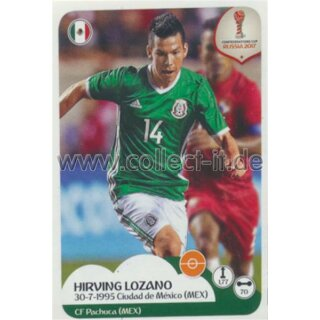 Confederations Cup 2017 - Sticker 132 - Hirving Lozano