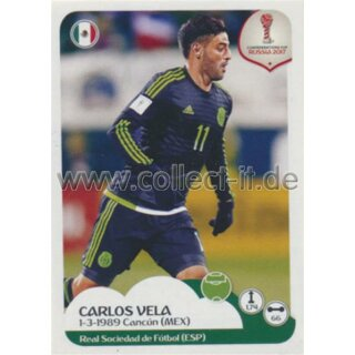 Confederations Cup 2017 - Sticker 137 - Carlos Vela