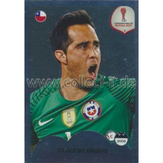 Confederations Cup 2017 - Sticker 145 - Chile - Claudio Bravo