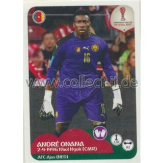 Confederations Cup 2017 - Sticker 153 - Andre Onana
