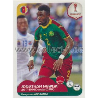 Confederations Cup 2017 - Sticker 160 - Jonathan Ngwem