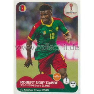 Confederations Cup 2017 - Sticker 166 - Robert Ndip Tambe