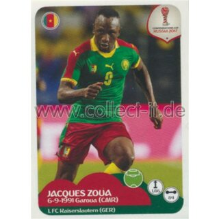 Confederations Cup 2017 - Sticker 170 - Jacques Zoua