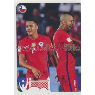 Confederations Cup 2017 - Sticker 177 - Torjubel Chile