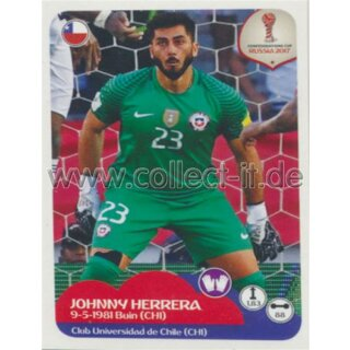 Confederations Cup 2017 - Sticker 180 - Johnny Herrera