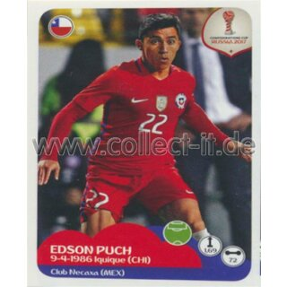 Confederations Cup 2017 - Sticker 199 - Edson Puch
