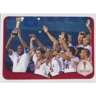 Confederations Cup 2017 - Sticker 266 - Frankreich 2001