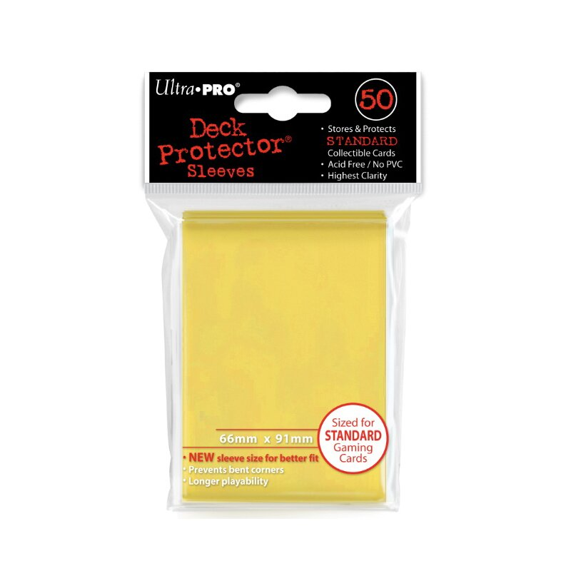 Ultra Pro - Deck Protector Sleeves - yellow